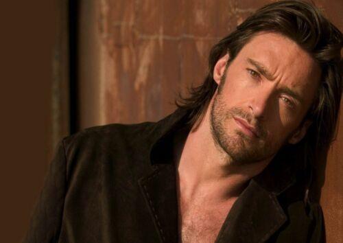 Hugh Jackman 10 Australian Actor X-Men Film Poster Tv Star Photo Long Hair Print
