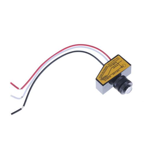 Automatic Light Control Sensor DC12V 24V 36V 48V Dusk To Dawn Photocell Switc UQ