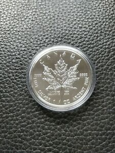 2004-5-1oz-Alphonse-Desjardins-Maple-Leaf-Silver-Coin-Privy-Mark
