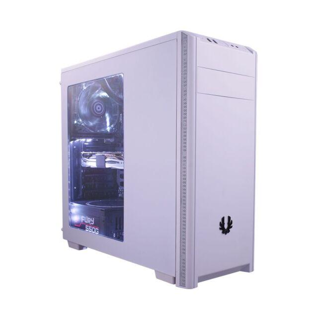 BitFenix Nova metà Custodia per Torre dei giochi - Bianco USB 3.0