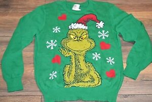 How The Grinch Stole Christmas Sweater Juniors Light Weght