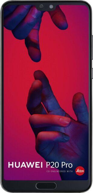 "Huawei P20 Pro 128 GB Smartphone 6.1"" Full HD Screen 6GB Google Preloaded Black"