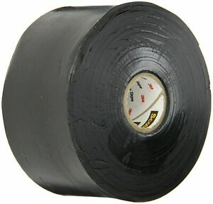 """*Lot of 2* 3M Scotch 130C Linerless Rubber Splicing Electrical Tape 3//4/"""" x 30 ft"""