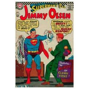 Superman-039-s-Pal-Jimmy-Olsen-1954-series-103-in-VG-condition-DC-comics-g1