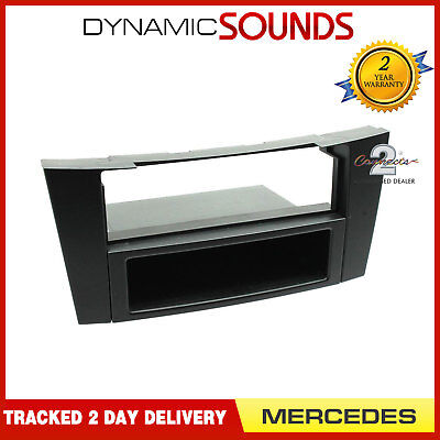 Connects2 CT24MB03 Mercedes E Class 2002 On Car Stereo Single Din Fascia Panel