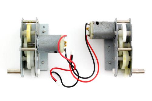 XciteRC Motor-Getriebeeinheit Panther M1:16 Kunststoffzahnräder
