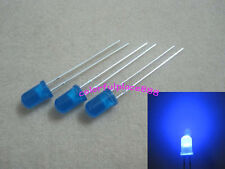 1000pcs, 5mm Blue Bright Diffused Round LED Leds Blue Lens Light Free Shipping