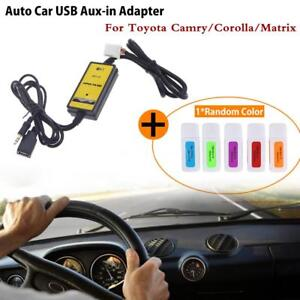 Auto-Car-USB-Aux-in-Adapter-MP3-Player-Radio-Interface-for-Toyota-H3G5