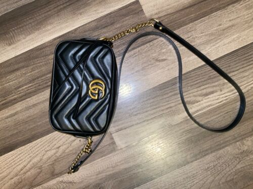 Black Gucci Crossbody Bag
