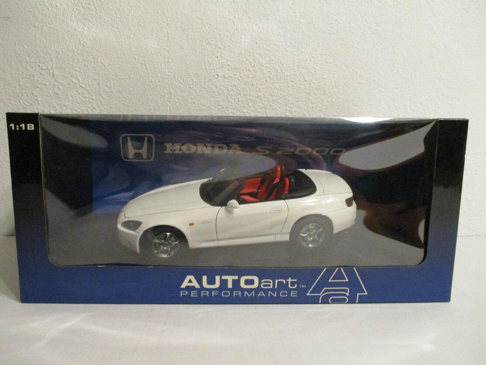 (Gok ) 1 18 Autoart Honda S2000 Nip