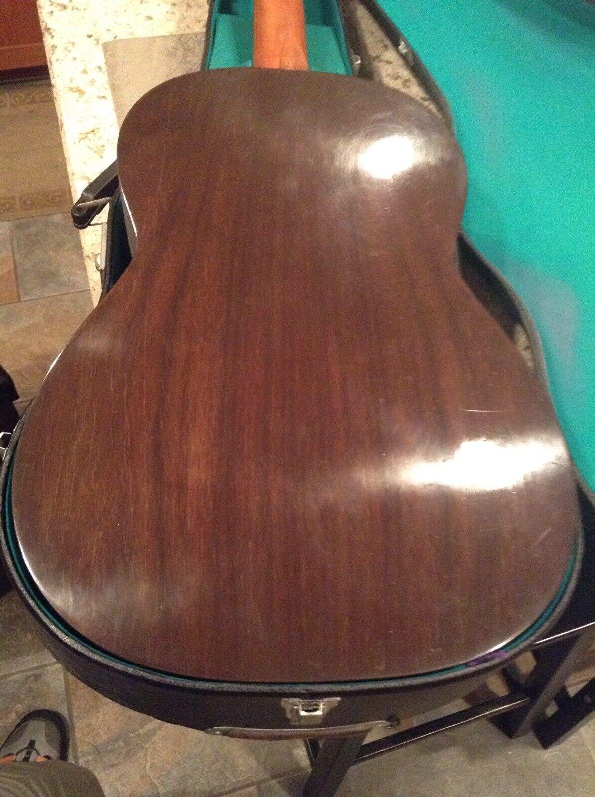 MARUHA HASHIMOTO CLASSICAL GUITAR  No.236 Rare Rare Rare Classic Guitar HARD CASE 344e7c