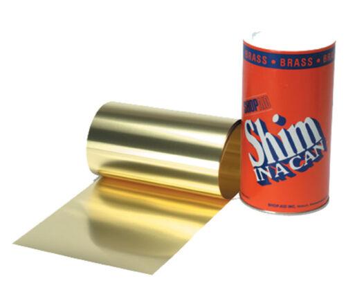 """.002/"""" Brass Shim Stock Roll"""