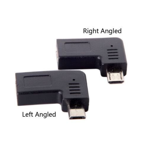 Adapter 90 Degree  USB-C Type-C Female to Micro USB 2.0 5Pin Male Data