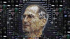 """Poster 24"""" x 16""""  Steve Jobs Face Portrait"""