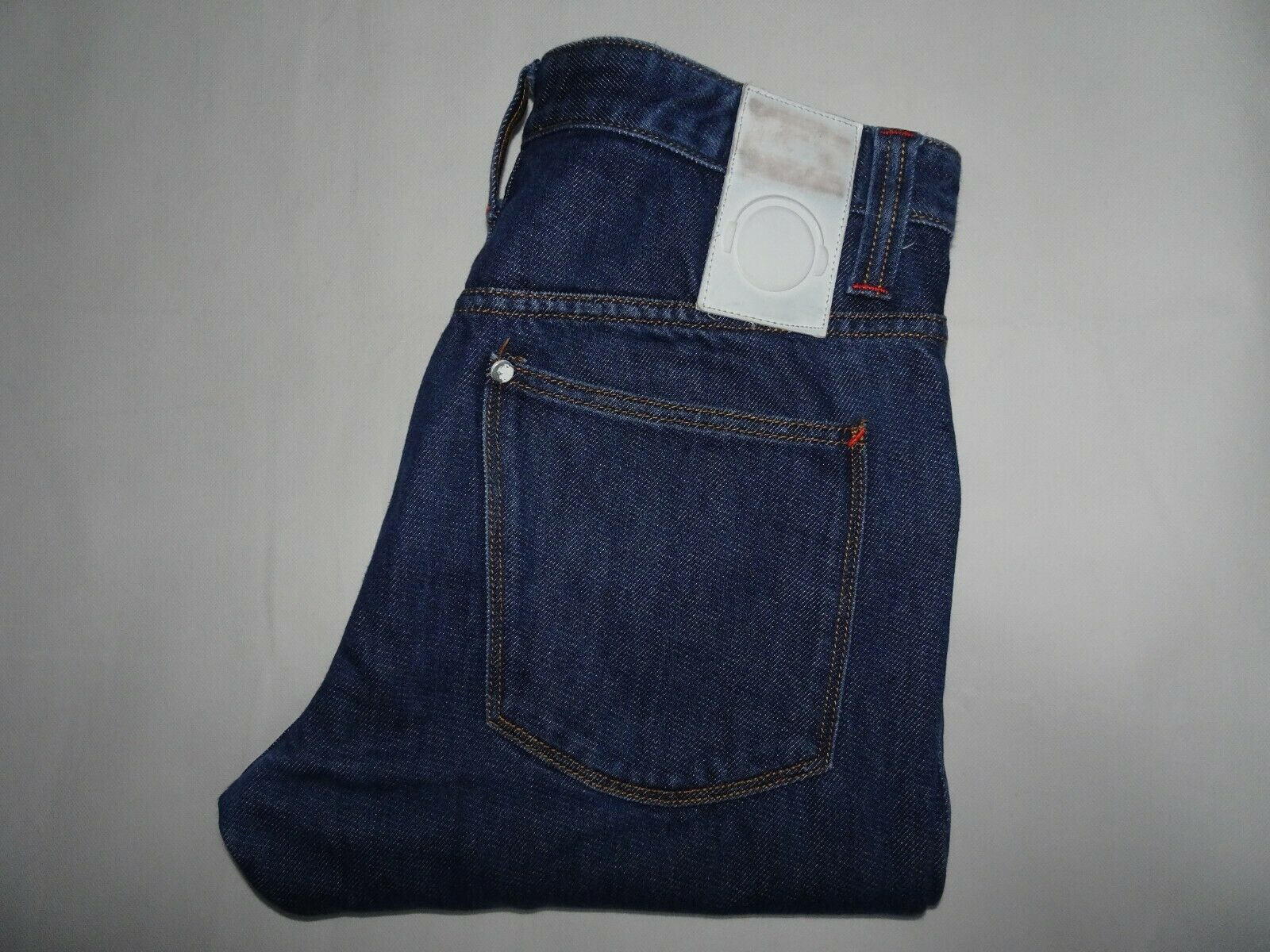 "HUMOR Mens Jeans bluee Denim Curved Slim Leg Fit SIZE W32 L36 Waist 32"" Leg 36"