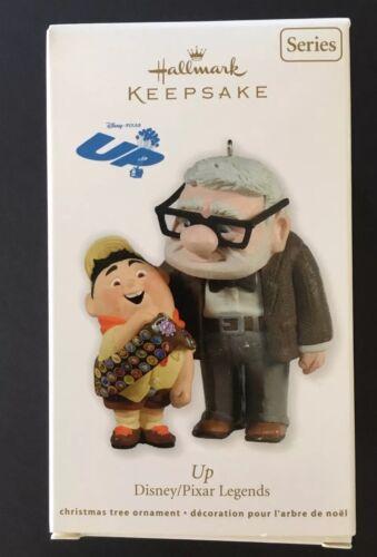 NIB Hallmark Keepsake Disney 1st Pixar Legends Series Up Ornament Carl /& Russell