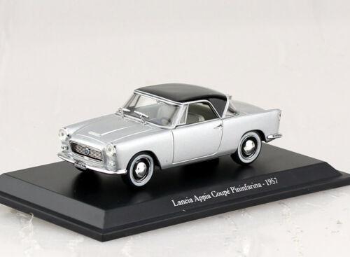 Lancia Appia Coupe 1957 silber 1:43 Hachette//Norev  Modellauto