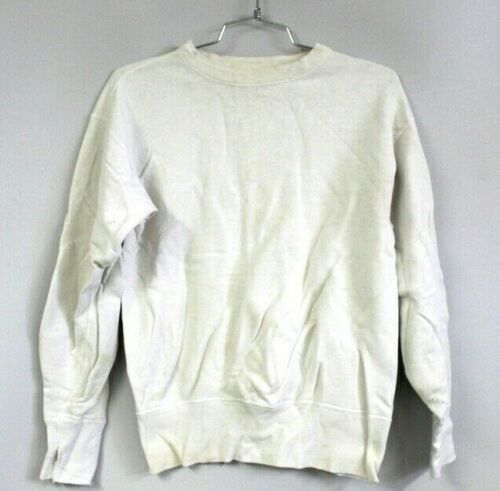 VTG 40s-50s  Brent  Cotton White SweatShirt XS MEn