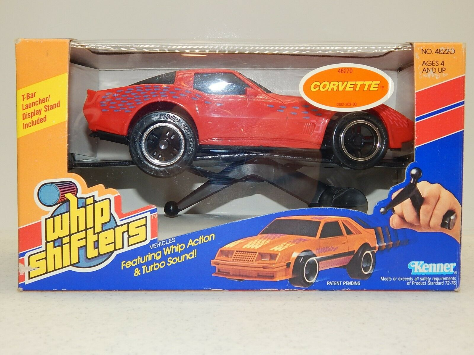 Vintage 1985 KENNER Whip Shifters CORVETTE Rare NEW MIB Free Shipping