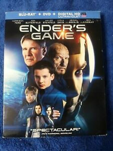 Enders Game (Blu-ray/DVD, 2014, 2-Disc Set, No Digital ...