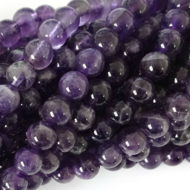 16 Inch Semi Precious Gemstone 6mm Round Beads Approx 65 Beads
