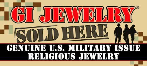 "LATTER DAY SAINTS Mormon Church 24/""  Necklace Genuine GI JEWELRY Military U.S"
