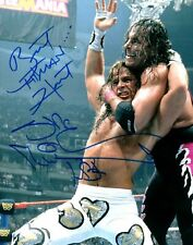 Shawn Michaels / Bret Hart WWE WWF Autographed Signed 8x10 Photo REPRINT