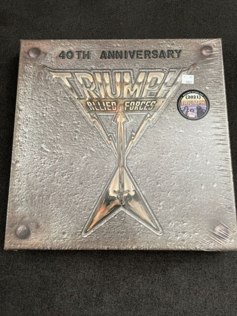 TRIUMPH - ALLIED FORCES 40TH ANNIVERSARY BOXSET SEALED RECORD STORE DAY RSD 2021