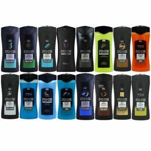 Axe-Duschgel-6-x-400-ml-Shower-Gel-Duschgel-verschiedene-Sorten