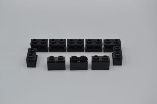LEGO 10 x Gelenkstein 1x2 Schwarz komplett Star Wars black hinge 3938 3937