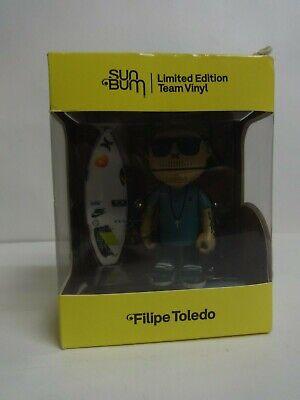 Filipe Toledo SUN BUM Limited Edition Team Vinyl 5 inch vinyl figure toy NEW