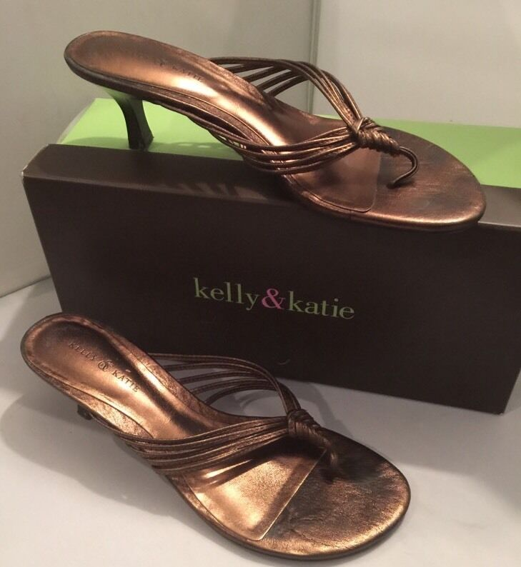 7.5M Kelly Twister & Katie Bronze KK Twister Kelly Sandal 2.5