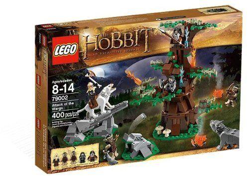 Lego The Hobbit 79002  L'attaque des Ouargues avec BIFUR yagnez-scellée, retraité, RARE  achats en ligne et magasin de mode
