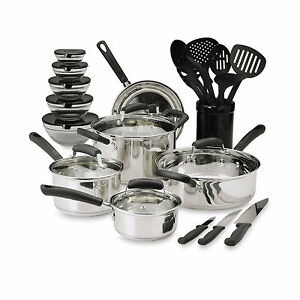 how to clean stainless steel pots and pans at home