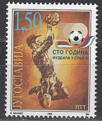 Jugoslawien 2798** 100 Jahre Fußballsport In Serbien Delikatessen Von Allen Geliebt Југославија Nr