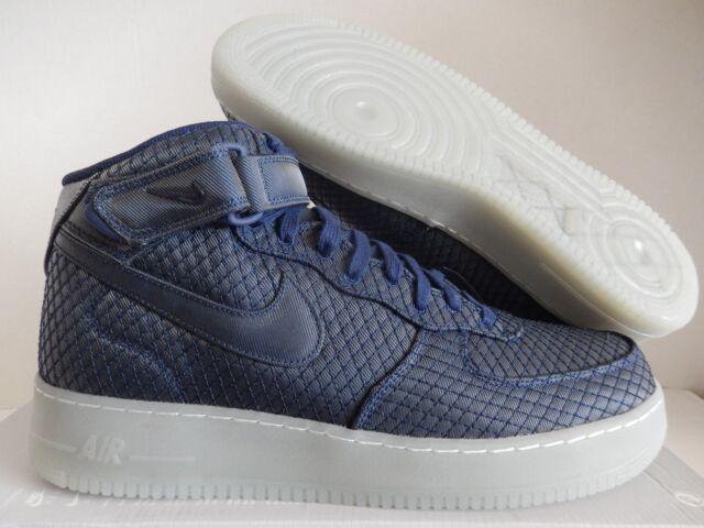 new arrival c8454 7e77e Nike Air Force 1 Mid 07 Lv8 Binary Blue-binary Blue Sz 13 804609-401 ...