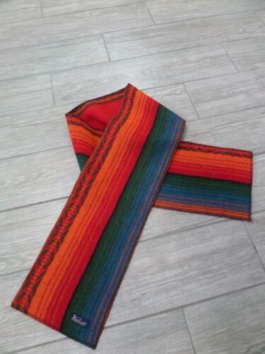 WOOLRICH wool INDIAN PRINT blanket SCARF southwest