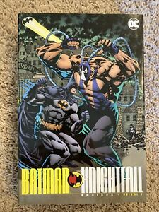 Graphic-Novel-Lot-Batman-Knightfall-Omnibus-Vol-1-Hardcover-DC-Comics-TP