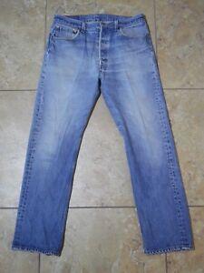 Fabriqu Levi's 501xx Bouton Vtg Med Bleu Wash Fly Jeans T8nqxZfH