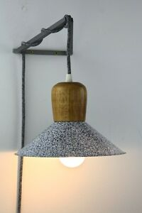 geometric wall lighting bracket hook frame pendant hanging light lamp holder eBay