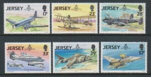 Jersey - 1993, Aviation History, RAF, 5th series set - MNH - SG 618/23