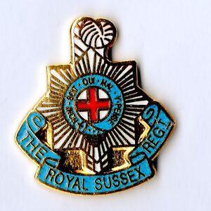 Enamel-Lapel-Badge-SUSSEX-REGIMENT