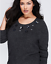 LANE-BRYANT-Flower-Embellished-Sweater-Women-039-s-Plus-22-24-Wool-Blend-3x thumbnail 1