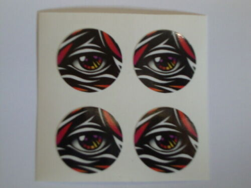 """16  ALL SEEING EYE  1/"""" BOWLS STICKERS LAWN BOWLS FLAT GREEN CROWN GREEN BOWLS"""