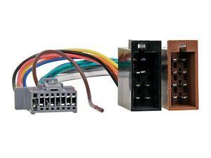 PANASONIC-Autoradio-Radio-Kabel-Adapter-Stecker-DIN-ISO-16Pin-Kabelbaum-Auto-KFZ