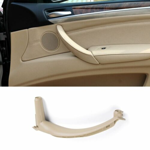 Jaronx for BMW X5 X6 Door Pull Handle Inner Door Trim Grab Cover Passenger Si...