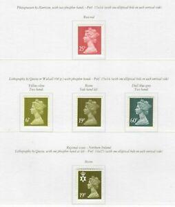 s33353-UK-GREAT-BRITAIN-1994-MNH-Definitives-5v