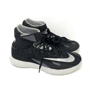 5fbff3f5c815 Details about Nike Zoom HyperRev Basketball Shoes Mens 8 630913-003 Black  Silver Kyrie EUC