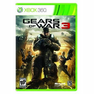 1 of 1 - Gears of War 3 (Microsoft Xbox 360, 2011)
