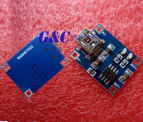 10pcs 5V Mini USB 1A Lithium Battery Charging Board Charger Module  MG8